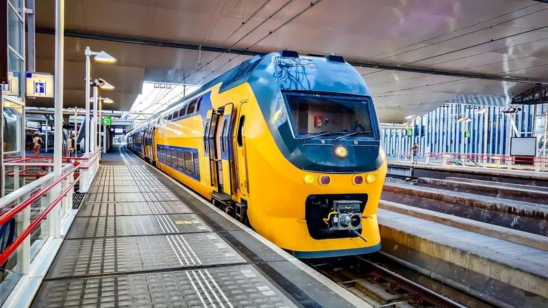 4K Cab Ride NL Dordrecht - Haarlem - Amsterdam Intercity 302281 22-06-2020