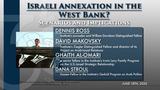 Israeli Annexation in the West Bank? Scenarios and Implications