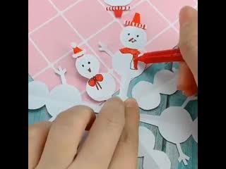 Очень интересная и симпатичная снежинка!