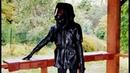 NECROTRANS Кожаный Черный Плащ Жилетка Дизайнерская жилетка плащ из натуральной кожи
