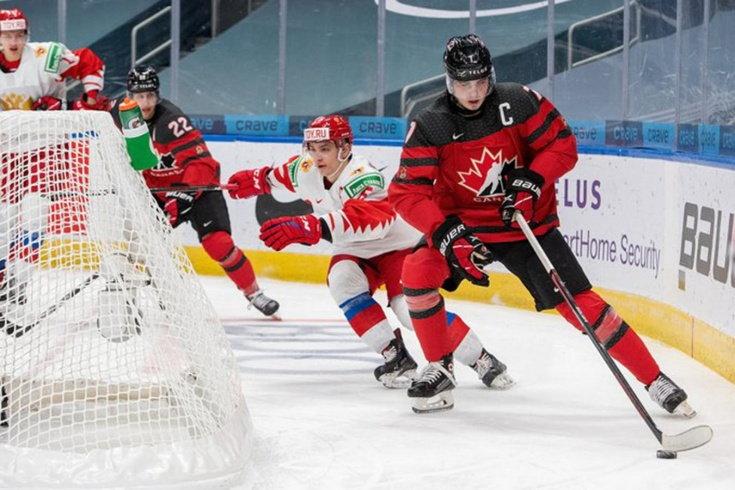 Россия проиграла Канаде контрольный матч перед МЧМ (Видео)