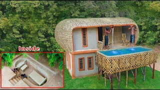 [Full Video]Building Underground Two Storey Villa With Private Swimming Pool And Private Living Room