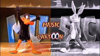 Cartoon Dancing - LONEY TUNES Show , Daffy Duck - Bugs Bunny - Dance Song