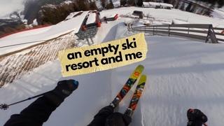 GoPro   an empty ski resort and me - Markus Eder