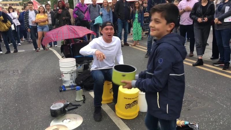 The Bucket Boy Matthew Pretty Amazing Drumming Show Edinburgh Fringe Festival 2019