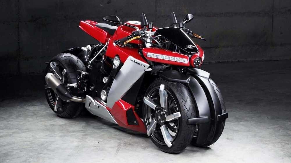 Четырехколесный мотоцикл Lazareth LM 410