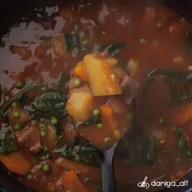 id_37250 Вариант вкусного ужина: рагу из говядины 🍴  Автор: daniya_alt  #gif@bon