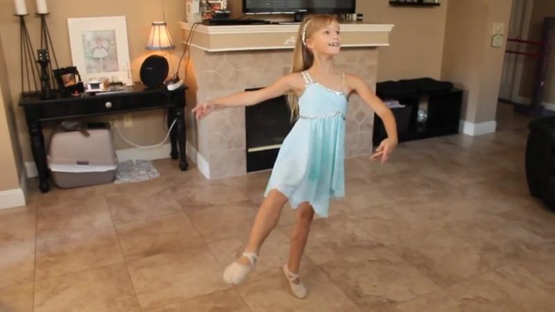 8 year old Ballerina Variation from Fairy Doll Sharianne Sampson
