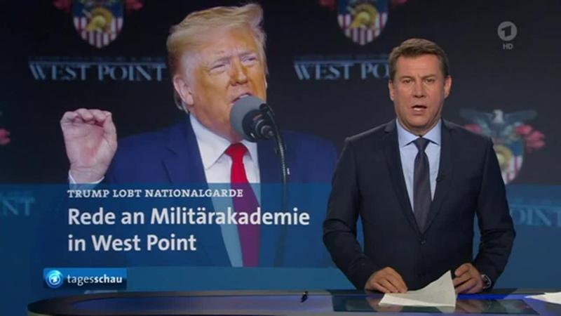 US-Präsident hält Rede vor den Kadetten von West Point
