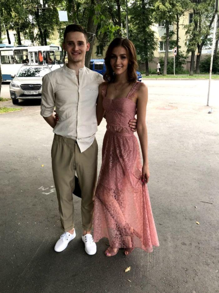 Арсентий Лазарев с женой Елизаветой