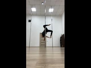 Акробатика на пилоне💪