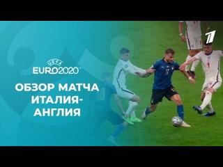 Италия— Англия. Финал. Лучшие моменты. Чемпионат Европы пофутболу 2020