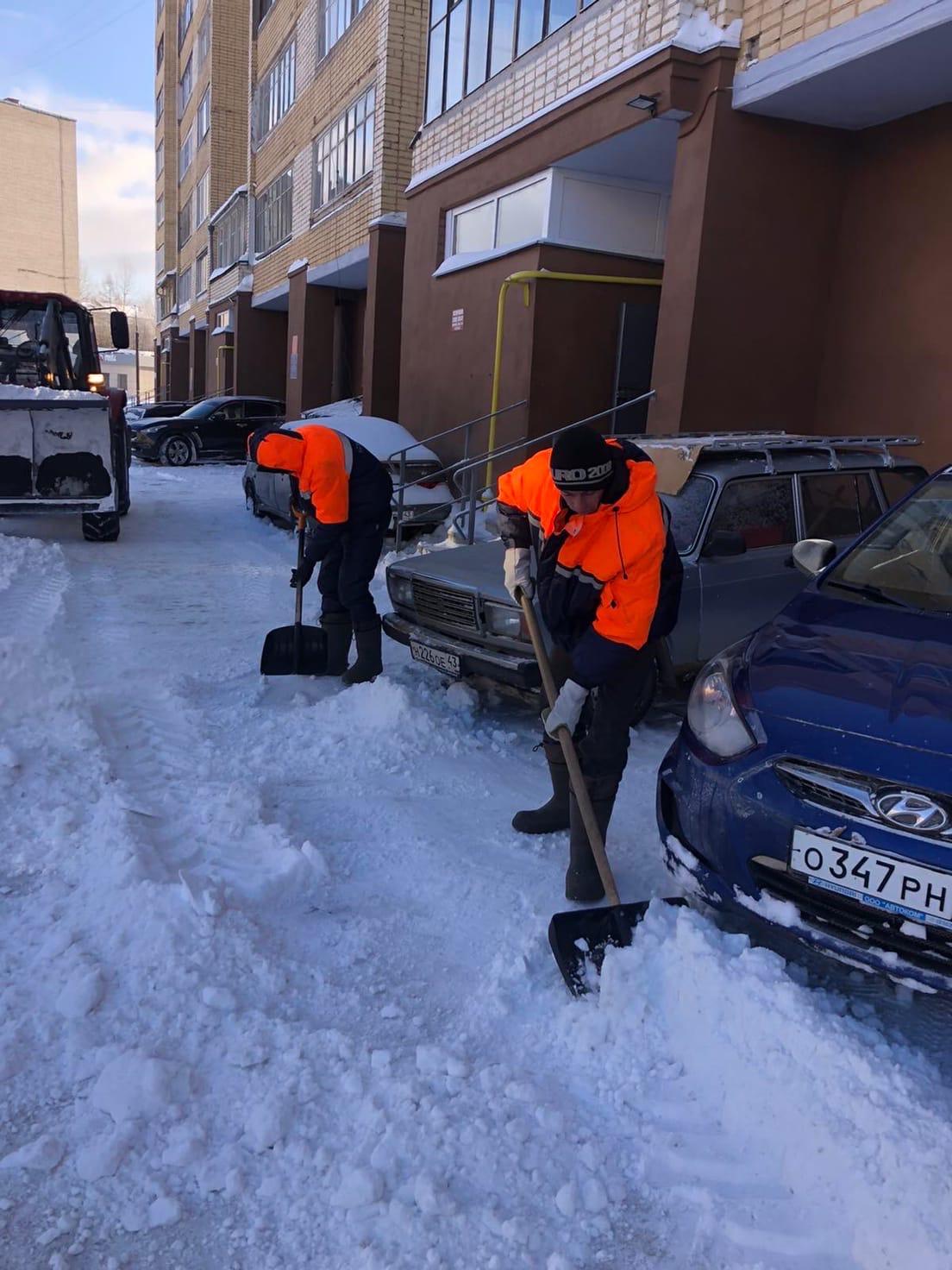 Улица Кольцова дом 22 механизированная уборка