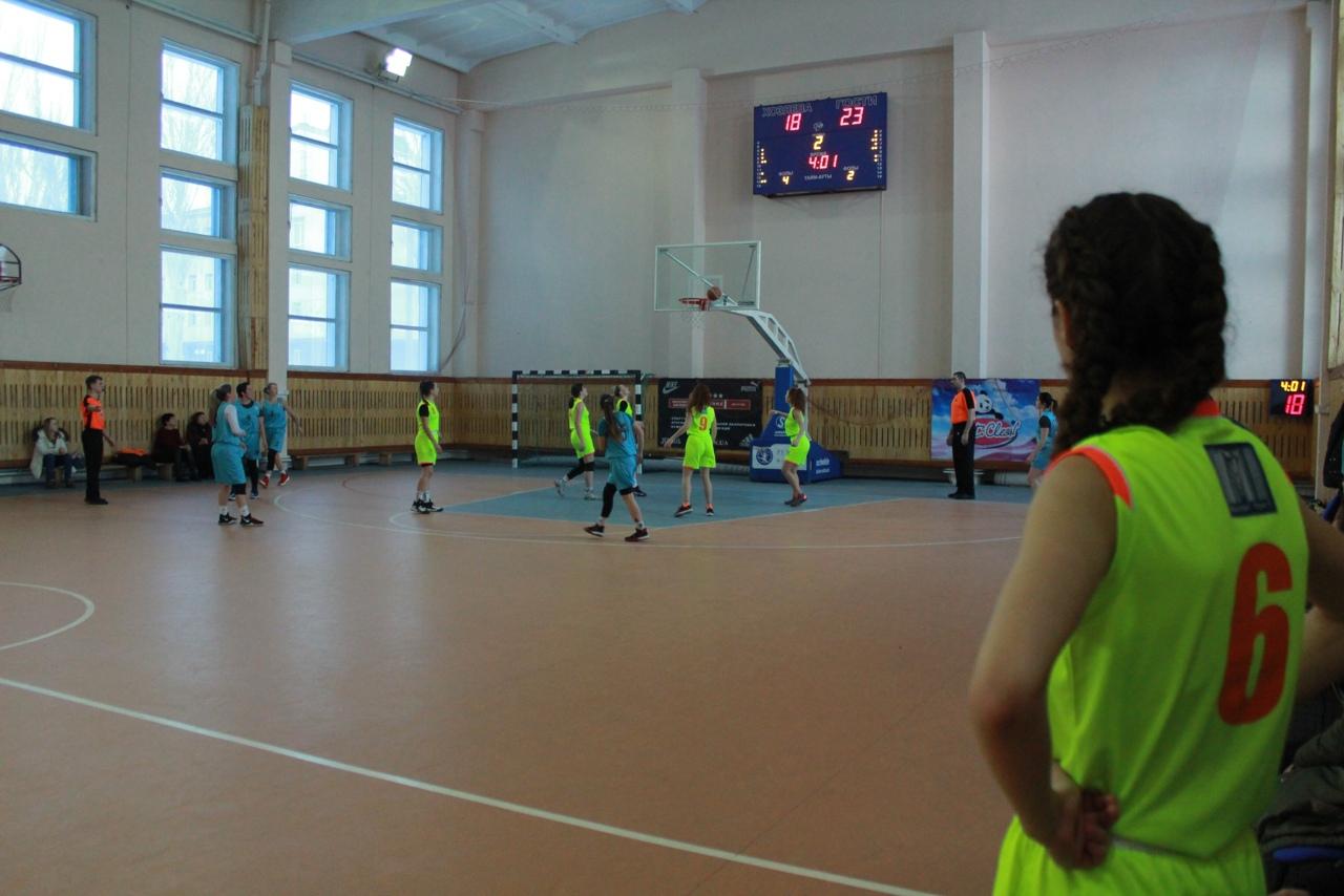 В Донецке завершился первый круг Женской Лиги по баскетболу сезона 2020/2021 гг.