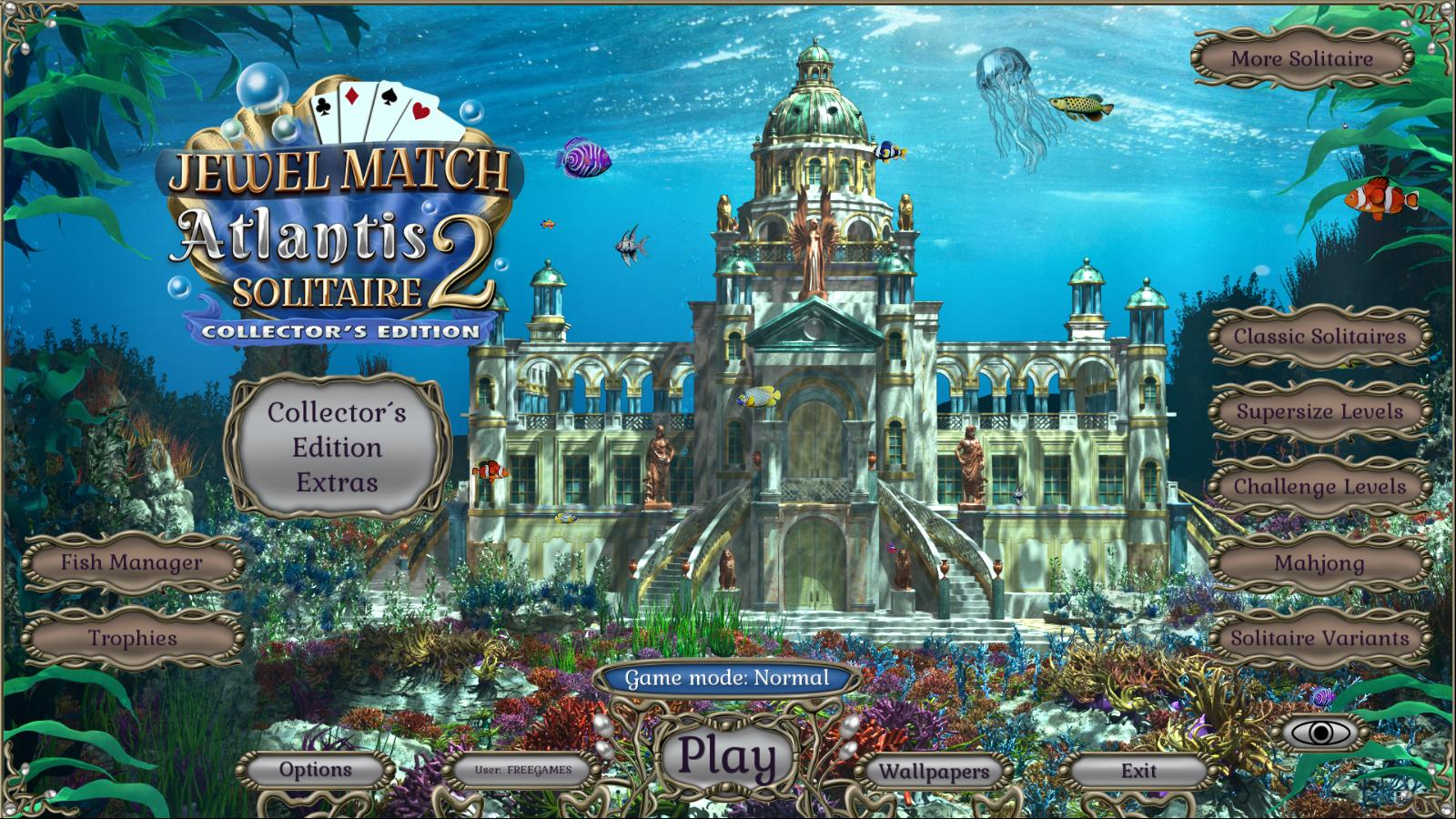 Jewel Match Atlantis Solitaire 2 CE (En)