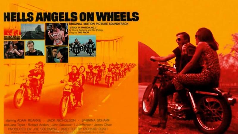 Ангелы ада на колёсах Hells Angels On Wheels 1967