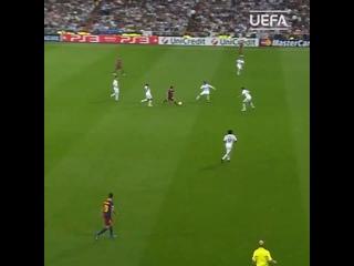 Сольный проход Лео Месси в матче с «Реалом»