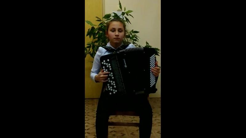 Новогодняя звезда. Гайнанова Камиля (13 лет), Мамадышский район, поселок совхоза Мамадышский