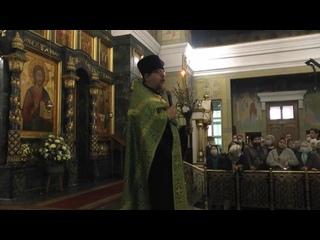 ()_Проповедь иерея Константина Корепанова на Всенощной в праздник Входа Господня в Иерусалим
