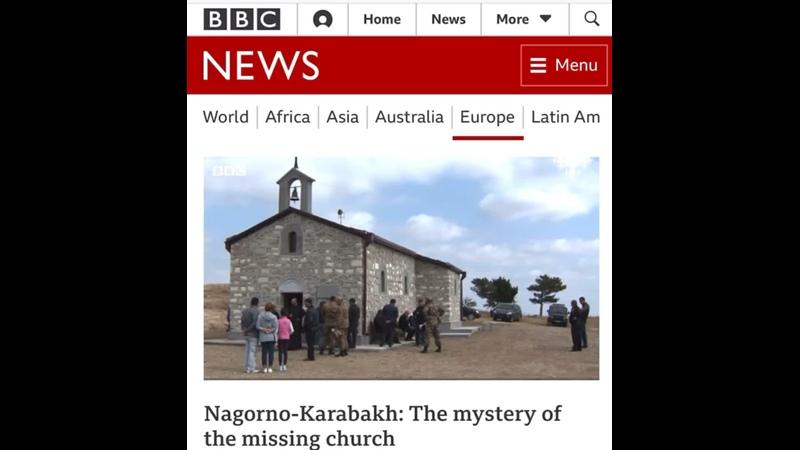 Азербайджанские вандалы полностью разрушили армянскую церковь в оккупированном Гадрутском районе Арцаха