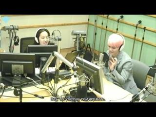 [160530] Jonghyun - calling Minho @ Park Ji Yoon's Musiс Plaza Radio (рус. саб)