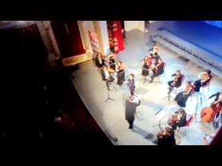 С. Танеев-Канцона для кларнета с оркестром.