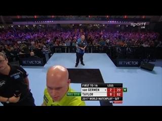 Michael van Gerwen vs Phil Taylor (PDC World Matchplay 2017 / Quarter Final)