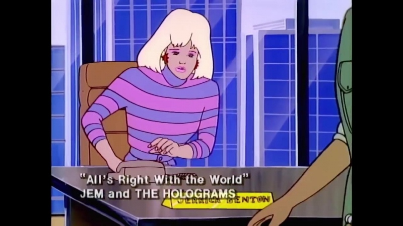 Jem and the Holograms Alls Right in the World by Jem