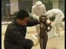 Бронзовое литьё Тонг Дяо - процесс создания скульптуры Купание женщины.