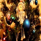 Footage Full HD (футаж) - Christmas Tree Angel