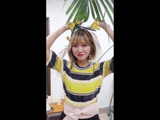 """· Message · 180910 · OH MY GIRL (Mimi) · """"Remember Me"""" Special Style Card Video ·"""