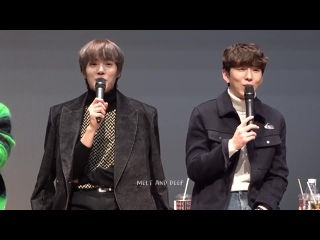 [VK][181215] MONSTA X (Minhyuk & Kihyun focus) @ Gimpo fansign