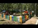 Марина Упит помогла детскому саду с оформлением тематического уголка