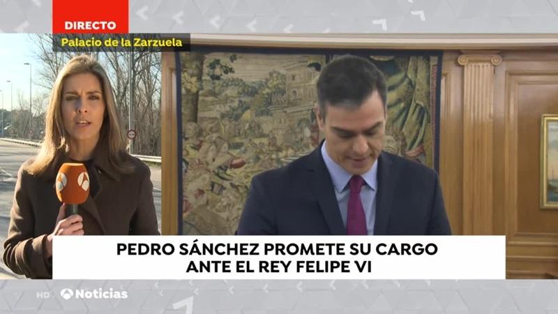 Antena 3 Ruleta, Noticias Pedro Sanchez promete Rey, muerte Pilar Borbón mujeres Arabia Saudí Supercopa bitrate 2020-01-08 1080p