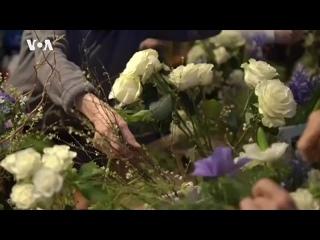 Умеют ли люди летать и зачем внучка Марка Шагала раздает на улицах Нью-Йорка цветы
