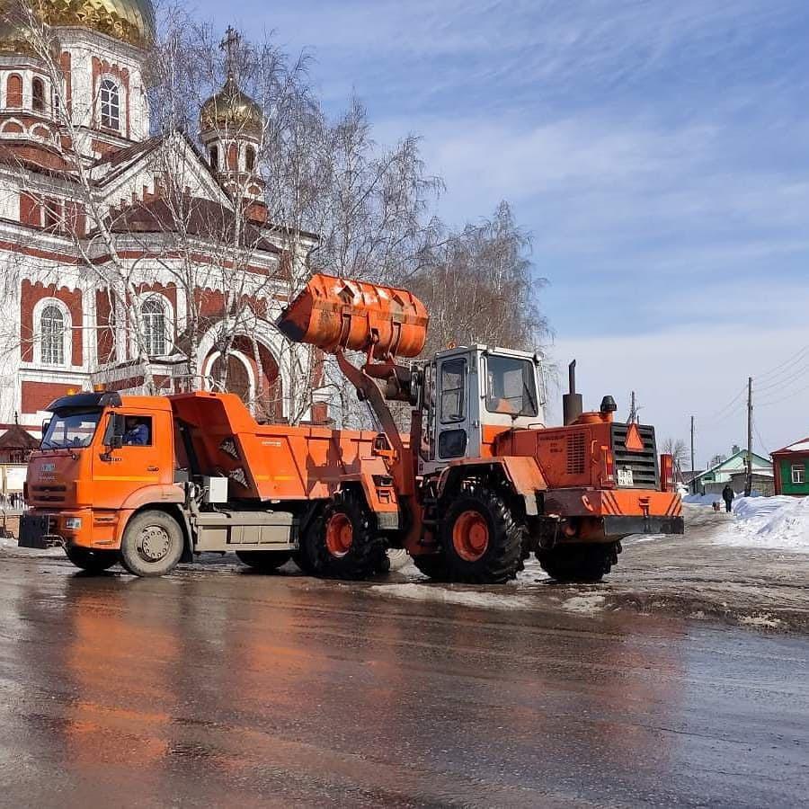 Городская коммунальная служба готовится к паводку и активному таянию снега