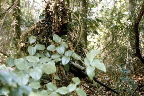 Искусство снайпера. Дневное выдвижение на позицию