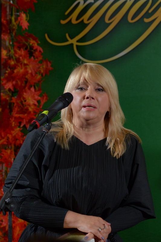 Наталья Зазулина держит ответное слово