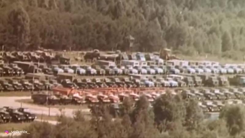 VOLKMIX Чернобыль Куда делась вся техника чернобыль