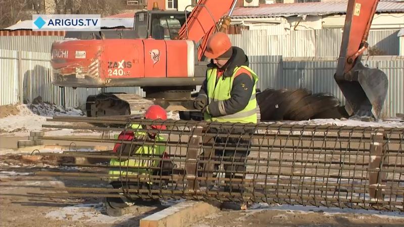 Большая стройка. В Улан-Удэ планируют с опережением возвести третий мост через Уду