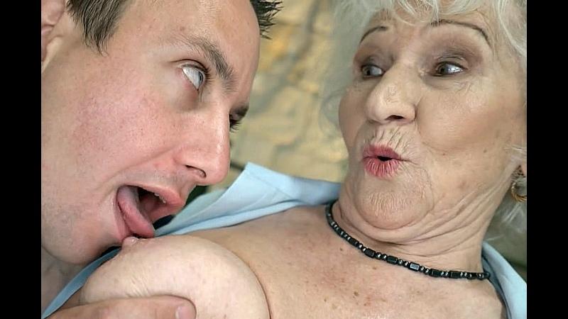 ПОРНО ЕЙ 85 ПОКАЗАЛ БАБУШКЕ ПОРНУХУ И ТРАХНУЛ ЕЁ porn sex gilf granny
