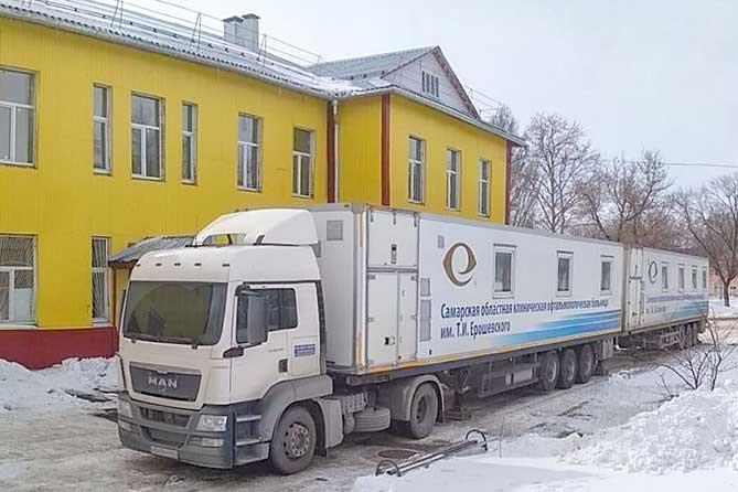 Офтальмологи из Ерошевского принимают в Тольятти до 23 апреля