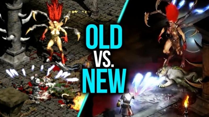 Diablo 2 resurrected - Дали погонять на альфа-тесте! Вместе смотрит что нас ждет