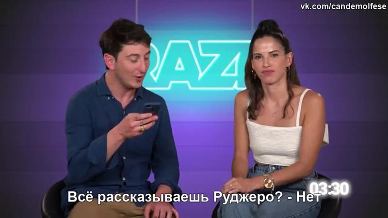 RAZE 100 вопросов за 5 минут с Канде Молфесе русские субтитры