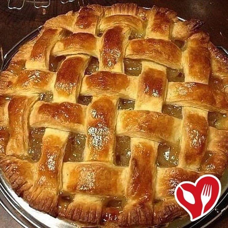 Пирог «Корзинка с персиками» 🍑