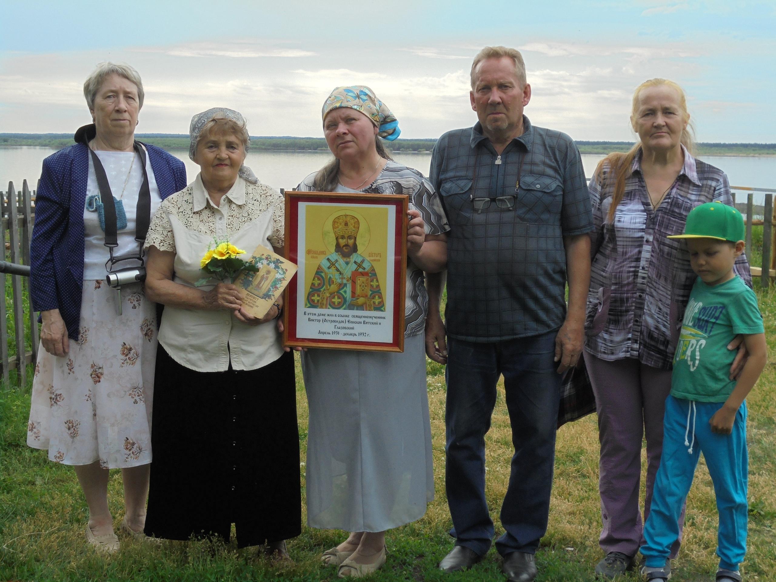 5 июля 2018 года православные Усть-Цильмы установили доску в памть еп. Виктора