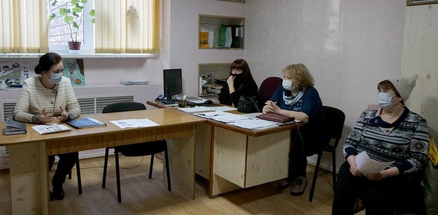 Глава города Таганрога Инна Титаренко встретилась с активом 20-го избирательного округа