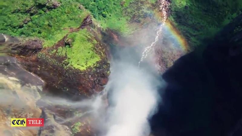 CCHTV Природа Венесуэлы Высочайший водопад в мире Анхель