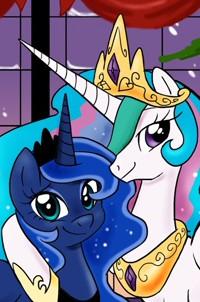 Принцесса Луна и Принцесса Селестия • | ВКонтакте