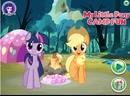 Игра My Little Pony Camp Fun.Твайлайт Спаркл и Эпплджек резвятся в лагере.11DeadFace